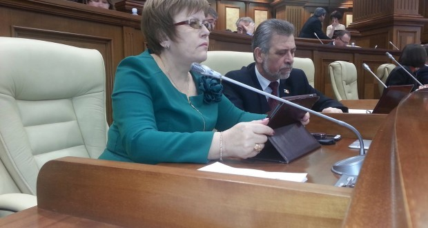 """Maria Ciobanu: """"Domnule ministru Jizdan, polițiștii nu sunt salarizați pentru a proteja proprietățile lui Plahotniuc"""""""
