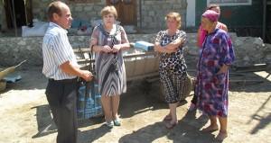 Întâlnire cu cetățenii din localitatea Isăicani, raionul Nisporeni
