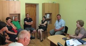 Vizita de lucru a deputatei Maria Ciobanu în localitatea Marinici, raionul Nisporeni