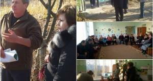 Vizita de lucru: Iurceni şi Cristeşti, raionul Nisporeni