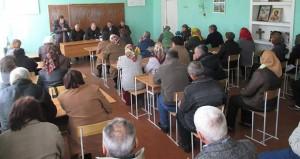 Vizita de lucru în localitaţile raionului Nisporeni