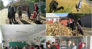 Vizita de lucru în raionul Nisporeni