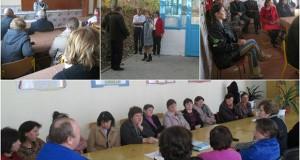 Întîlnire cu cetăţenii: Bălăneşti şi Găureni, raionul Nisporeni