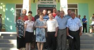 Întîlnire cu cetățenii din localitățile Bălăurești și Zberoaia, raionul Nisporeni