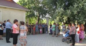 Întîlnire cu cetățenii din localitatea Bărboieni, raionul Nisporeni