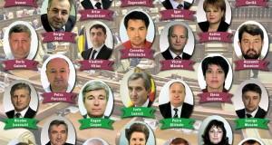 """Poza de album a """"parlamentarilor trădători"""""""