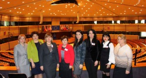 Vizită de studiu în Parlamentul European