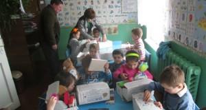 Jucării pentru copiii din Găureni